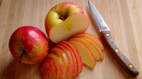Rebanadas de manzana